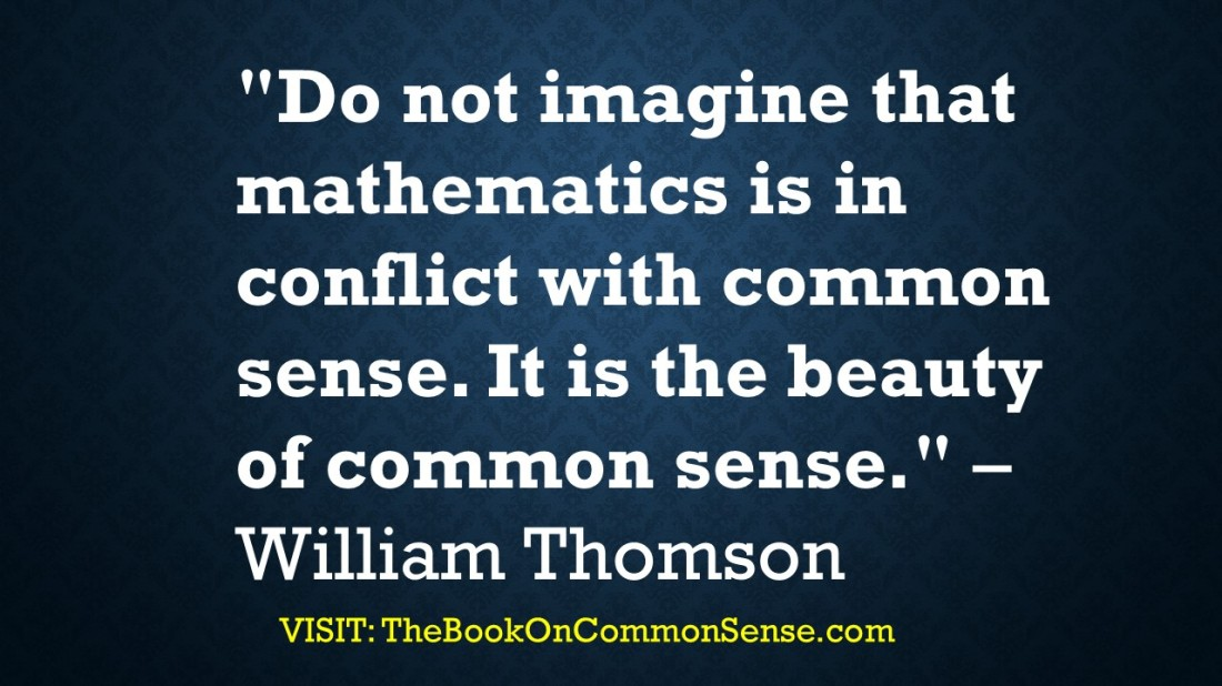 Common Sense Quotes