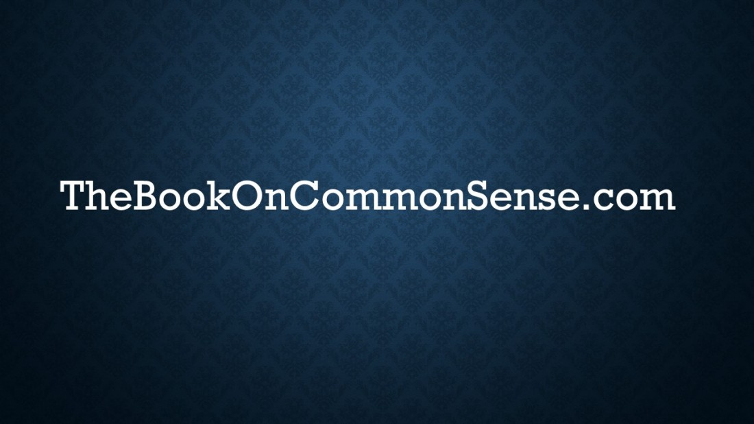 The Book On Common Sense